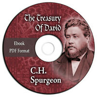 The Treasury of David-Charles C H Spurgeon-Bible Commentary Psalms-CD eBook PDF
