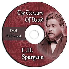 The Treasury of David-Charles C H Spurgeon-Bible Commentary Psalms-CD eBook PDF