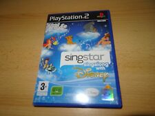 SINGSTAR  DISNEY  NEW  NOT SEALED PS2 playstation 2 uk pal version