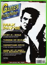 tgm 148 GAMES MACHINE max payne,throne of bhaal,stronghold,f1 2001,moon project