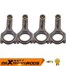 Connecting Rod For Nissan SR20 S13 S14 Silver 180SX Pulsar H Beam 4340 Conrods