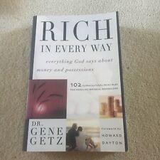 DR GENE GETZ, RICH IN EVERY WAY. 1582293902