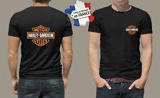 t-shirt personnalisé harley davidson moto biker motard motorcycle vintage M022