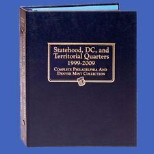 Whitman US Statehood Quarter Coin Album 1999-2009 P&D w/ DC & Territories #2821