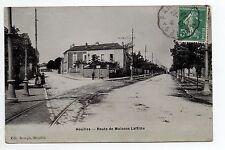 HOUILLES Yvelines CPA 78 La route de maisons Lafitte