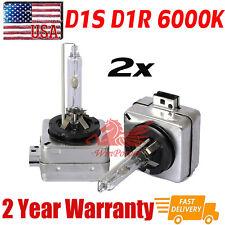 2x D1S D1SR 35W 6000K OEM HID Replacement Xenon Headlight Light Bulbs Lamps USA