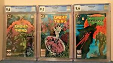 SAGA OF THE SWAMP THING 38, ST 39 & ST 40 ALL CGC 9.6 WP 2ND, 3RD & 4TH APP. JC