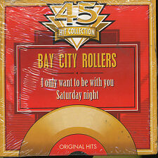 BAD CITY ROLLERS CD SINGLE BELGIQUE SATURDAY NIGHT (2)