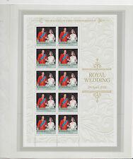 2011 Australia PO Pack, Prince William & Miss Catherine Middleton SG 3592