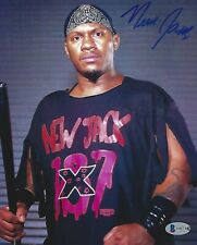 New Jack Signed 8x10 Photo BAS Beckett COA WWE ECW Wrestling Picture Autograph