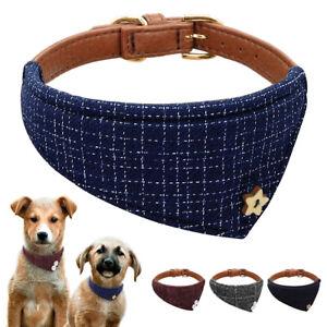 Gentle British Dog Bandana Collar Pet Cat Puppy Neckerchief Neck Scarf Blue Grey