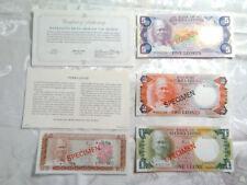 Sierra Leone Complete 4 Specimen 1978 002729 Cs1 P4 - 7 Unc