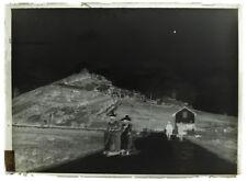 Photo plaque verre 13x18cm- Saint Maime - Forcalquier Alpes Hautes-Provence 1900