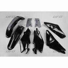 UFO Plast 5 Piece Motocross Plastic Kit Husqvarna CR 125 250 2T 2005 Black