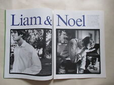Liam Noel Gallagher Oasis pages cuttings clippings ads Sweden Swedish