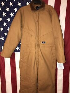 """Walls Work Wear Insulated Heavy Duty Coveralls Size Large/Short 42""""to 44"""" NWT!!!"""