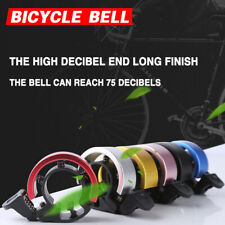 Invisible Bicycle Bell 90db Aluminum Bike Handlebar Alarm Horn For 22.2-22.8mm