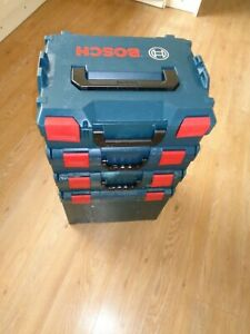 Bosch Sortimo L-Boxx Stackable Tool Box  x 4