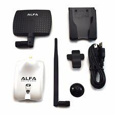 Alfa AWUS036NHR V2 Wireless N USB Adapter 2000mW + 7dBi Antenna + U-Mount