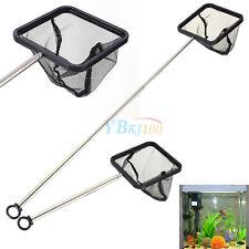 Square Aquarium Shrimp Small Betta Tetra Fish Tank Net Extendable Handle 20-40cm