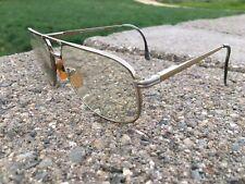 Stainless Steel Sst 20 Mink Gold Tone Eyeglasses Glasses 57-18 145mm