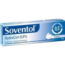 SOVENTOL Hydrocort 0,5% Creme   15 g   PZN4465121