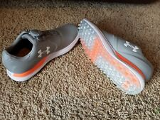 UNDER ARMOUR UA Performance Spikeless Boa Grey White Golf Shoes Ladies Women 5.5