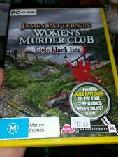 James Patterson -  Womens Murder Club -  Little Black Lies - PC GAME - FREE POST