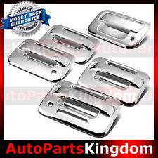 04-14 Ford F150 Chrome 4 Door Handle+keypad+Passenger keyhole+Tailgate Cover