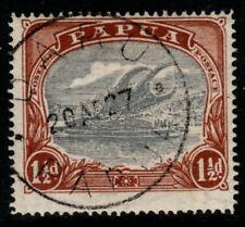 More details for papua sg95d 1925 1½d pale grey-blue & brown
