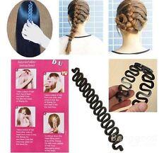 French Hair Braiding Tool Roller Magic Hair Twist Styling Bun Make USA SELLER