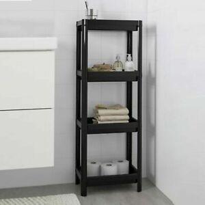 3-4 Tier Shelves Kitchen Storage Organiser Shelving Rack Unit Display Stand