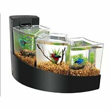 Aquarium Betta Falls Three Tier Waterfall Contemporary Bettas Fish Tank Black