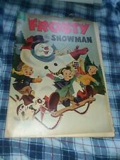 Frosty The Snowman Four Color 601 #4 dell comics 1954 golden age precode cartoon