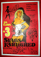 DAUGHTER I A WOMAN PART III 1970 DANISH FALCK SUNDT SCOTT PAGH EXYU MOVIE POSTER