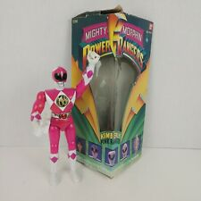"Power Rangers Kimberly Pink Ranger 8"" Vintage 1993  With Box"