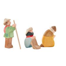 Hirtengruppe mini 3-tlg Ostheimer 66520 Krippe Figuren Weihnachtskrippe Tiere