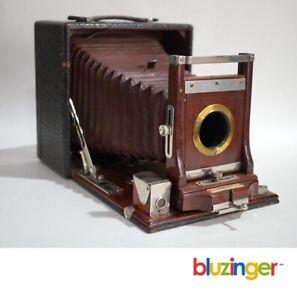 Antique CONLEY 4x5 Folding Bellows Film Camera