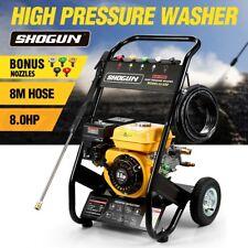8HP Petrol Pressure Washer High Pressure Cleaner Aluminum Pump with 8M Hose