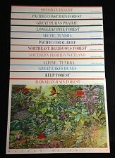 Scott # 3293-4474 USPS Nature Series - All 12 Mint Sheets
