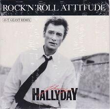 CD 2 titres JOHNNY HALLYDAY n°193 ROCK' N' ROLL ATTITUDE (remix)