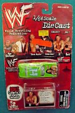 1999 Toy Island WWF Collector Series Triple H Diecast car 1/64 scale with stand