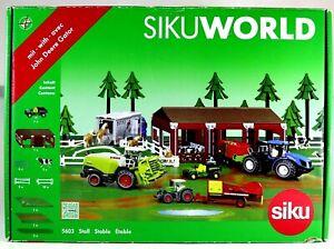 JOHN DEERE GATOR STABLE Stall Farm Hand Siku World 5603 NEW