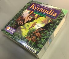 Legend of Kyrandia Book One BIG BOX MAC (Westwood Studios, 1992) FACTORY SEALED