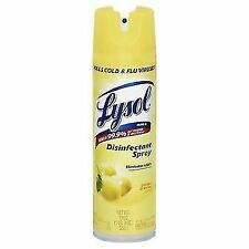 Lysol Disinfectant Spray, Lemon Breeze - 19oz