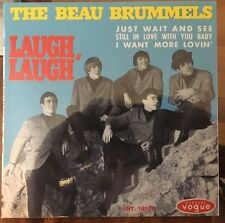 RARE FRENCH REPRO EP THE BEAU BRUMMELS LAUGH LAUGH