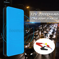 20000mAh 12V 2A Car Jump Starter Booster Charger Battery Smartphone Power  τ