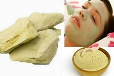 Organic Pure Multani Mitti Facial Clay Fullers Earth Whole & Powder from India