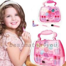 Kids Girls Makeup Set Eco-friendly Cosmetic Pretend Play Kit Princess Toy Gifts