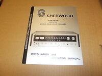 Sherwood S8910 S7910 Receiver  Original Operating Owners Manual